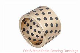 Bunting Bearings, LLC 08BU14 Die & Mold Plain-Bearing Bushings