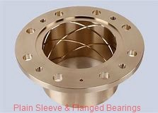 Bunting Bearings, LLC EP121516 Plain Sleeve & Flanged Bearings