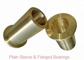 Bunting Bearings, LLC EF050708 Plain Sleeve & Flanged Bearings