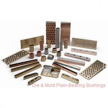 Bunting Bearings, LLC 09BU08 Die & Mold Plain-Bearing Bushings