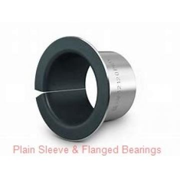 Bunting Bearings, LLC EF071012 Plain Sleeve & Flanged Bearings
