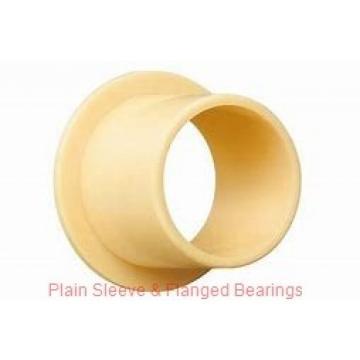Bunting Bearings, LLC EP061212 Plain Sleeve & Flanged Bearings
