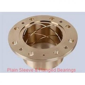 Bunting Bearings, LLC EF050806 Plain Sleeve & Flanged Bearings