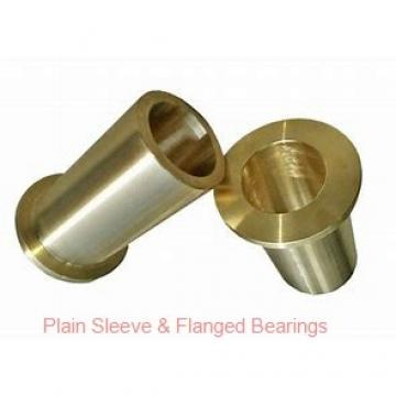 Bunting Bearings, LLC EP050616 Plain Sleeve & Flanged Bearings