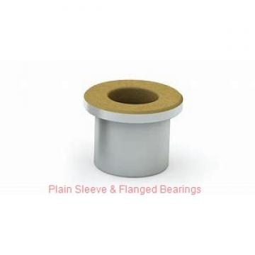 Bunting Bearings, LLC CB485632 Plain Sleeve & Flanged Bearings