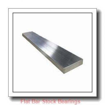 L S Starrett Company 54030 Flat Bar Stock Bearings