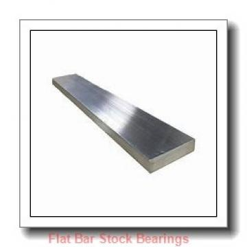 L S Starrett Company 54045 Flat Bar Stock Bearings