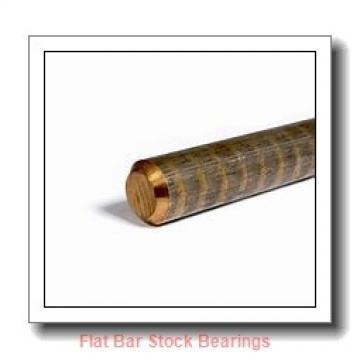 L S Starrett Company 54190 Flat Bar Stock Bearings