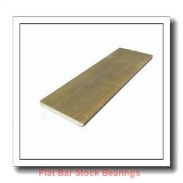 L S Starrett Company 54101 Flat Bar Stock Bearings
