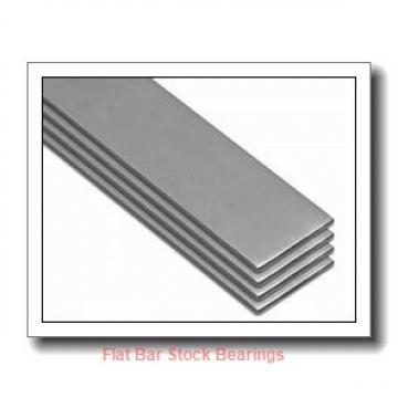 L S Starrett Company 54028 Flat Bar Stock Bearings