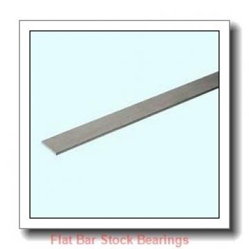 L S Starrett Company 54972 Flat Bar Stock Bearings