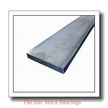 L S Starrett Company 54055 Flat Bar Stock Bearings