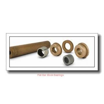 L S Starrett Company 54781 Flat Bar Stock Bearings
