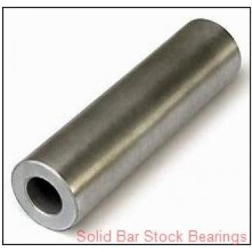 Bunting Bearings, LLC SSS 800 Solid Bar Stock Bearings
